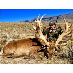 ALGAR: 5-Day Red Stag Hunt for One Hunter and One Non-Hunter in Argentina - Includes Trophy Fee