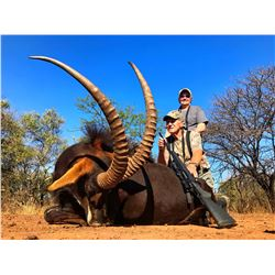 AFRICA MAXIMUM: 10-Day Sable Hunt for Two Hunters and Two Non-Hunters in South Africa - Includes Tro