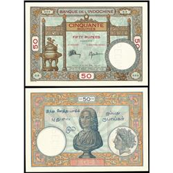 Paper Money : Indo-French