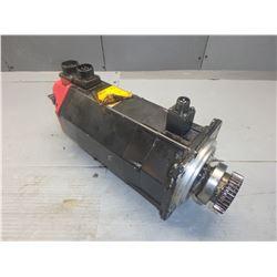 FANUC A06B-0163-B175 AC SERVO MOTOR *BROKEN PLASTIC SEE PICS*
