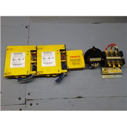 FANUC MISCELLANEOUS ELECTRICAL PARTS AND MODULES  ***SEE PICS!!!