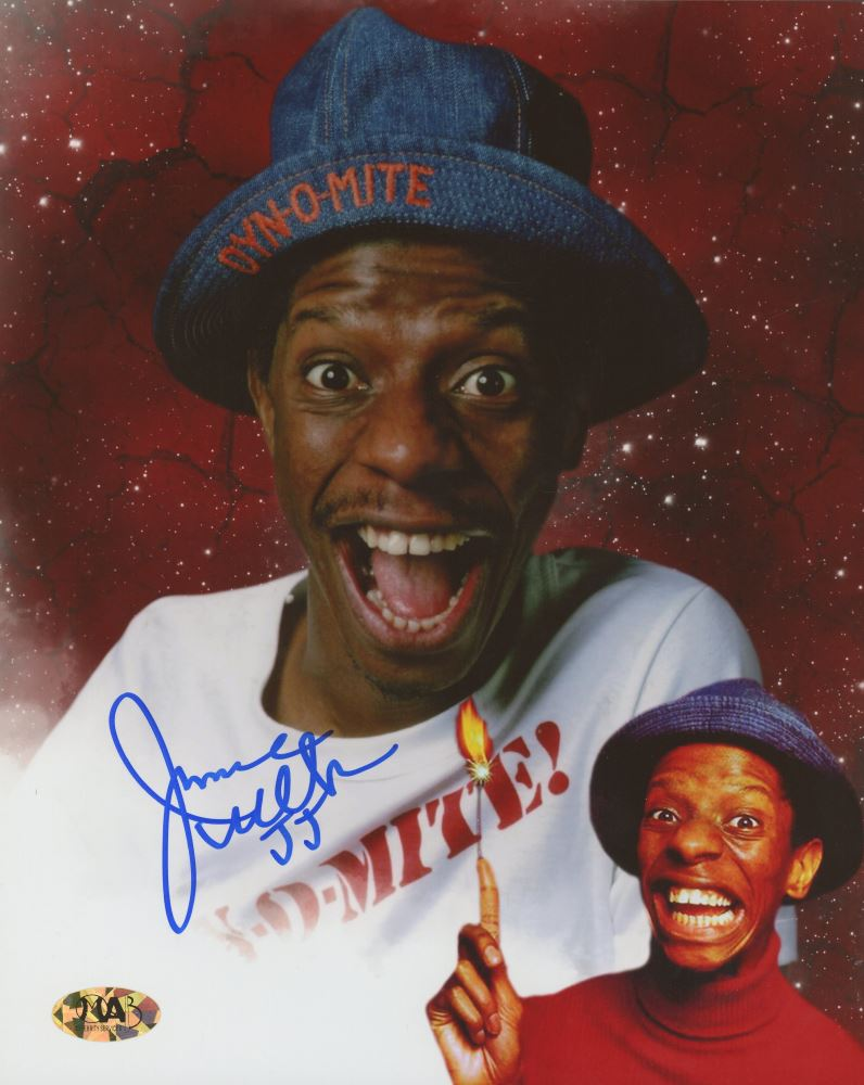 Jimmie Walker Signed Good Times 8x10 Photo Inscribed Jj Mab
