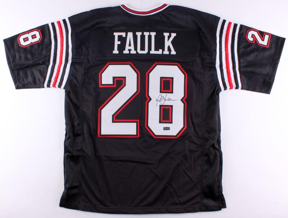 reputable site 8bebb 3072c Marshall Faulk Signed San Diego State Aztecs Jersey (Radtke ...