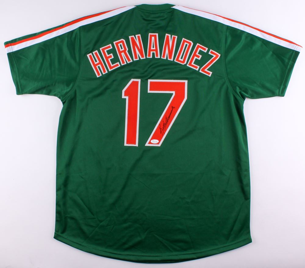 competitive price d1b8a 08e1a Keith Hernandez Signed Mets Jersey (JSA COA)