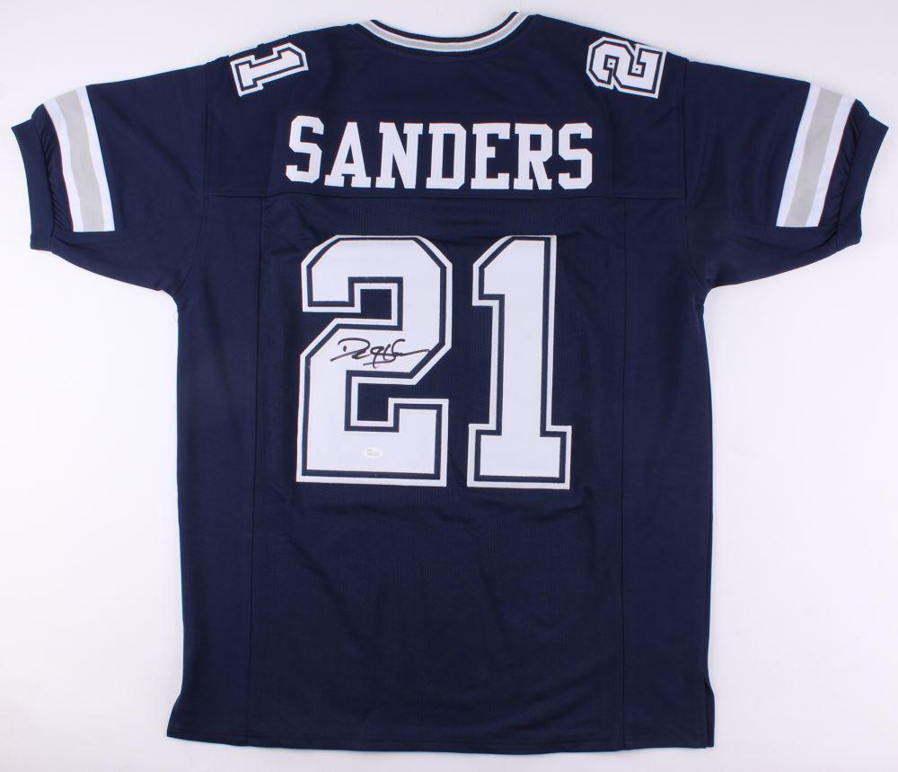 a190e2582 Image 1 : Deion Sanders Signed Cowboys Jersey (JSA COA)