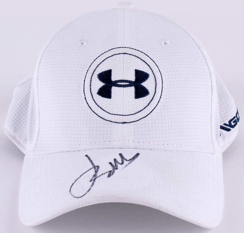 20e8d69a Image 1 : Jordan Spieth Signed Under Armour Fitted Golf Hat (JSA COA)