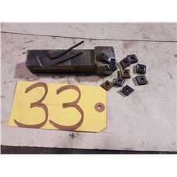 Kennametal Holder MCLNL-432 with inserts CNMG 432-431