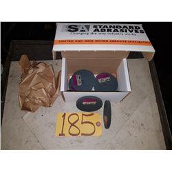 "Standard Abrasives Scotch-Brite Unitized Wheel Soft Mauve 3""x1/4""x3/8"""