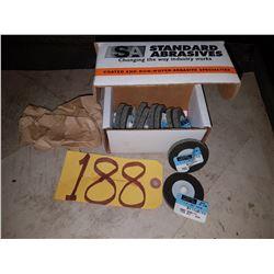 Standard Abrasives Scotch-Brite Unitized Lockit Wheel 2''x1/4''