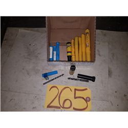 Lot of New Solid Carbide Drill