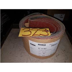 Abrasive Belt 6''x60'' Grit P24