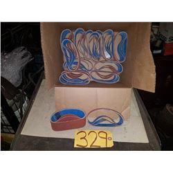 Box of Abrasive Belt 2''x12'' Grit 50
