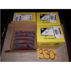 Box of Abrasive Belt 3''x10''3/4 Grit 80