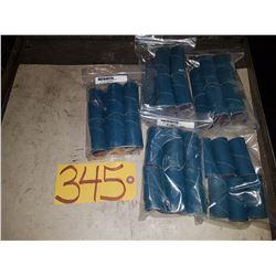 Bag of Spiral Band 1''x2''1/2 Grit Z-120