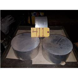 Lot (3) Aluminum 7''1/4 x 3''5/8