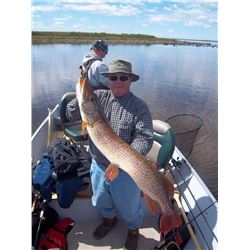 7-day Manitoba Lake Trout, Pike and Grayling Fishing Trip for One Angler