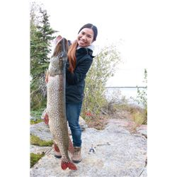 3-day Northwest Territories Monster Pike Fishing Trip for Two Anglers