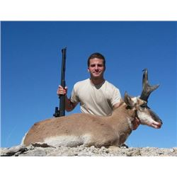3-day Utah Pronghorn Hunt for One Hunter