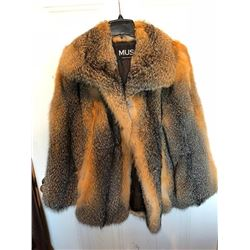 Grey Fox Coat
