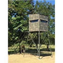 5x5, 10-ft. Atascosa/Bushlan Blind w/luxury package