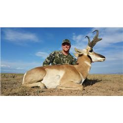 3-day Wyoming Pronghorn Antelope Hunt for Two Hunters