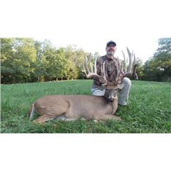3-1/2 day Missouri White-tailed Deer Hunt with Adam Vinatieri for Two Hunters and Two Observers