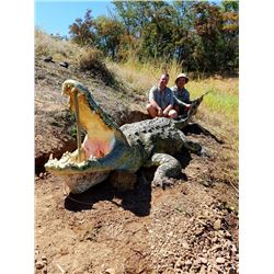 7-day Mozambique Crocodile Hunt for Two Hunters