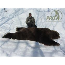 7-day Russian Kamchatka Brown Bear Hunt for One Hunter