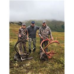 10-day Alaska Caribou Hunt for One Hunter
