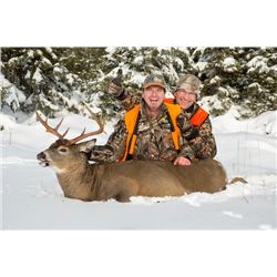 4-day Anticosti White-Tailed Deer Hunt for Two Hunters