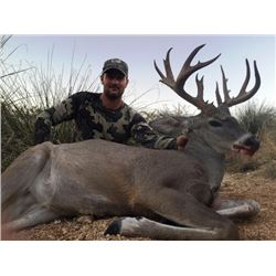 5-day Arizona Coues Deer Hunt for Two Hunters and One Observer