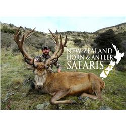 10-day New Zealand Big Game Safari for Three Hunters and Three Observers