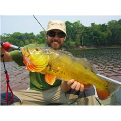 6-day Bolivia Payara, Peacock Bass and Catfish Fishing Trip for Four Anglers