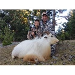5-day New Zealand Trophy White Bull Tahr Hunt for One Hunter and One Observer