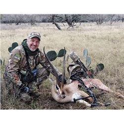 5-day/4-night Texas Exotics Archery Hunt with Tom Miranda for One Hunter