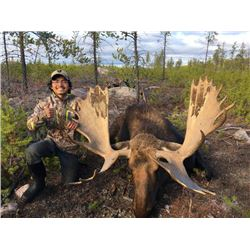 7-day Alberta Moose Hunt for One Hunter