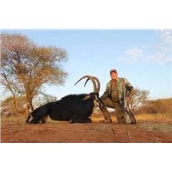 10-day South Africa Sable Hunt for One or Two Hunters and One or Two Observers