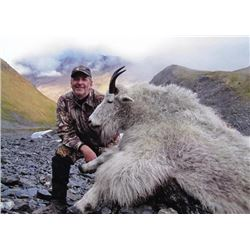 6-day Kodiak Island Mountain Goat Hunt for One Hunter