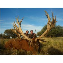 6-Day/7-Night Argentina Big Game Hunt for Four Hunters