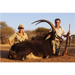 7-day South Africa Sable Hunt for Two Hunters
