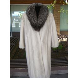 Azurine Mink Full Length Coat