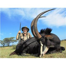 10-day South Africa Plains Game Hunt for One Hunters and One Observers