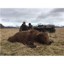 8-day Alaska Peninsula Brown Bear Hunt for One Hunter