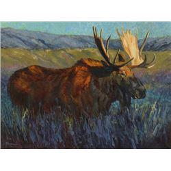 Original Oil Painting 'Moose Flats'
