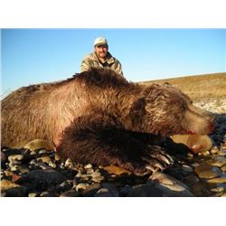 7-day Alaskan Grizzly Bear Hunt and Rifle Package for One Hunter and One Non-hunter