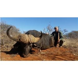 7-day South Africa Cape Buffalo and Plains Game Hunt for Two Hunters