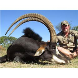 7-day South Africa Sable Hunt for Two Hunters and Two Observers