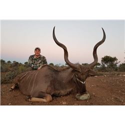 7-day/8-night South Africa Kudu, Nyala and Bushbuck Hunt for One Hunter and One Observer