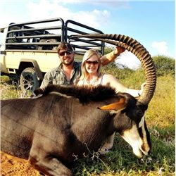 10-day South Africa Sable and Nyala Hunt for Two Hunters