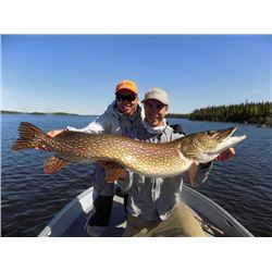 4-day Manitoba Trophy Pike, Lake Trout and Walleye Fishing Trip for Two Anglers